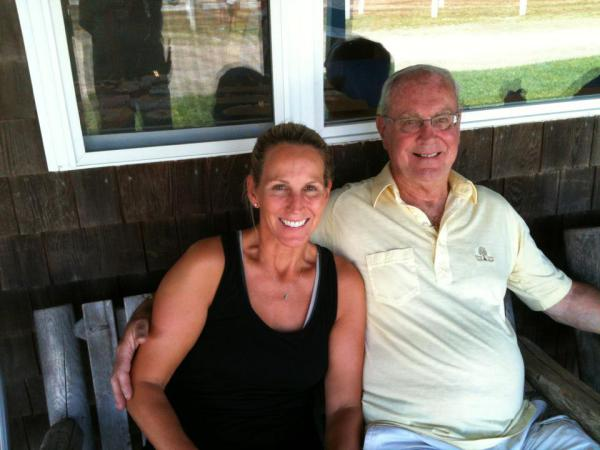Bob McCuin and his daughter, Kristin