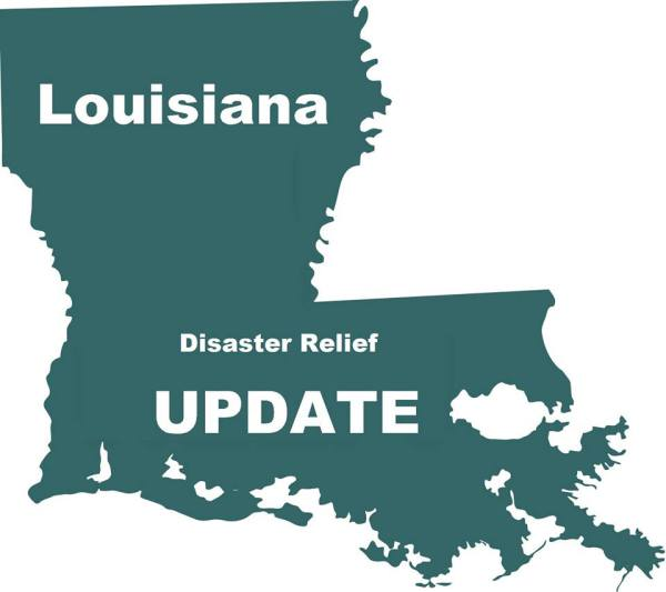 Louisiana Flood Relief--UPDATE
