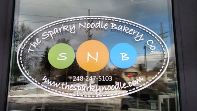 The Sparky Noodle Bakery, Co. front door