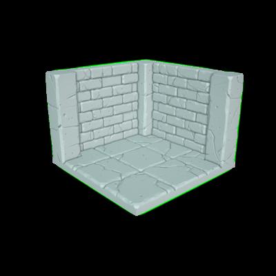 "Tilescape™ Modular Building System by Rocket Pig Games ""CORNERS"""
