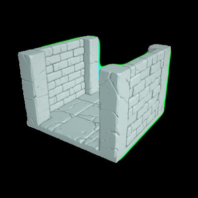 "Tilescape™ Modular Building System by Rocket Pig Games ""Corridors"""