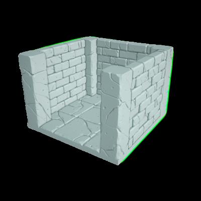 "Tilescape™ Modular Building System by Rocket Pig Games ""Dead Ends"""
