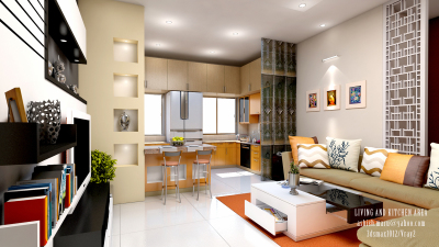 Living & Kitchen Dinning