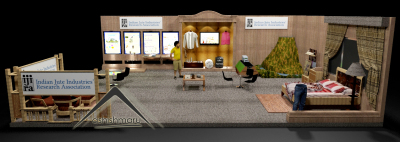 Stall Design for India Jute Industries