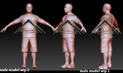 Character Modeling for Animation