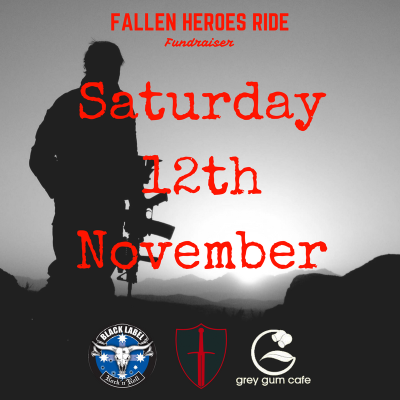 Fallen Heroes Fundraiser Ride 2016