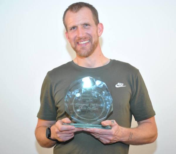 Runner of the Year Chris Phillips