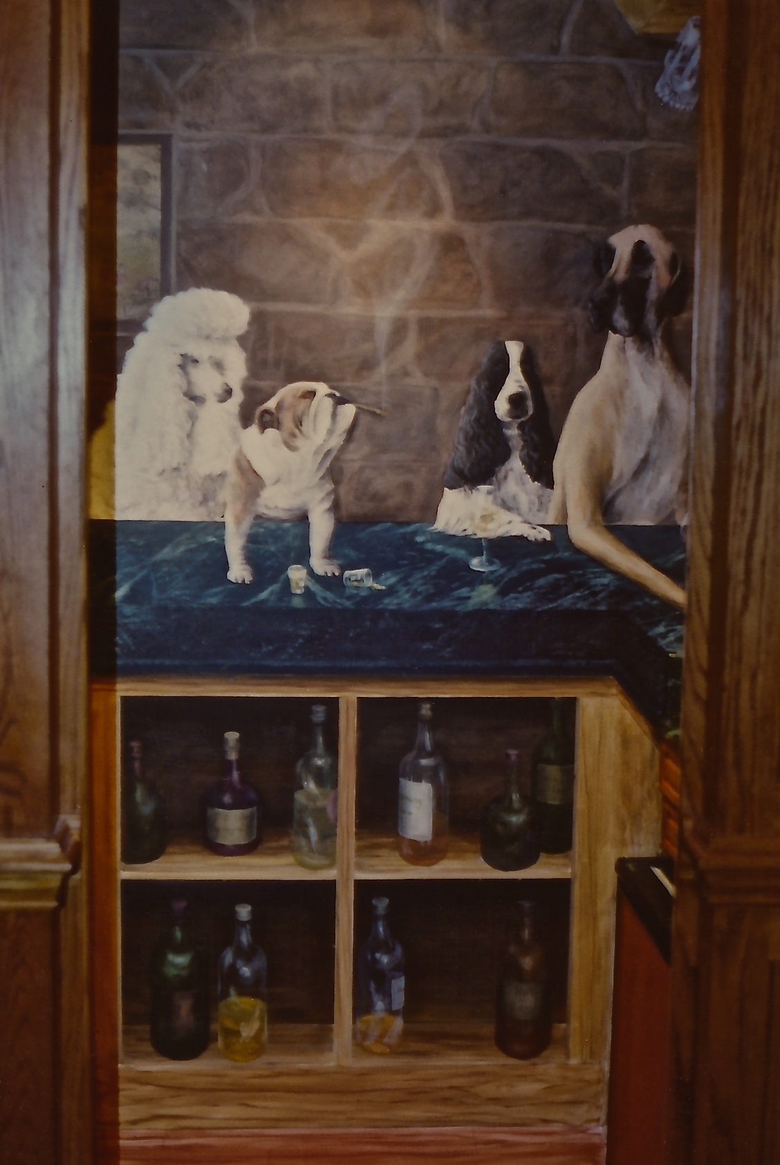 Mural for Small Bar
