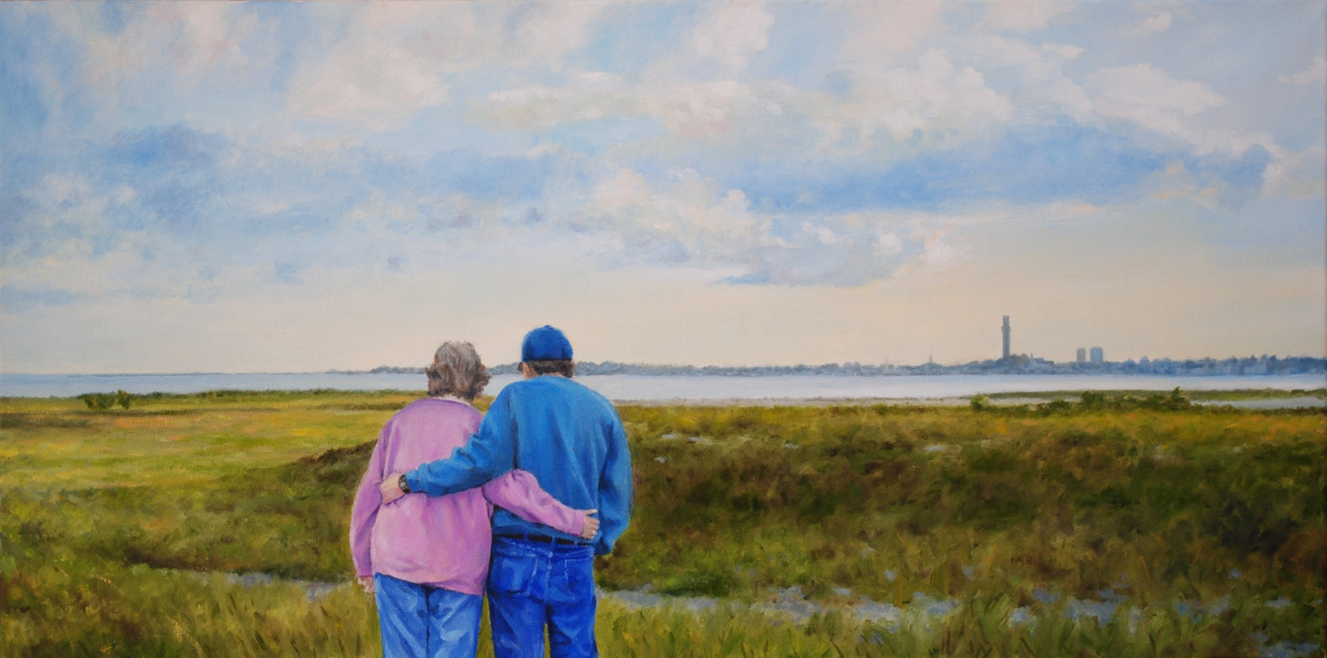 """Oil Painting 15""""X30"""""""