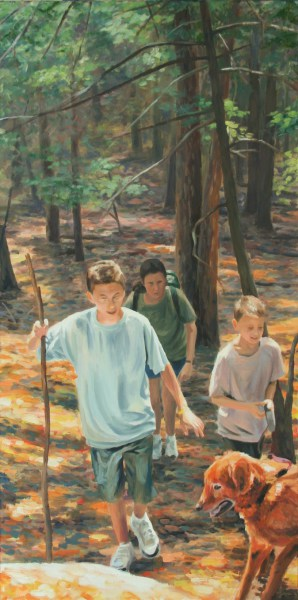 """Oil Painting 36""""x18"""""""