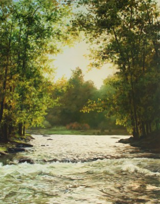 """Oil Painting 60""""x47"""""""