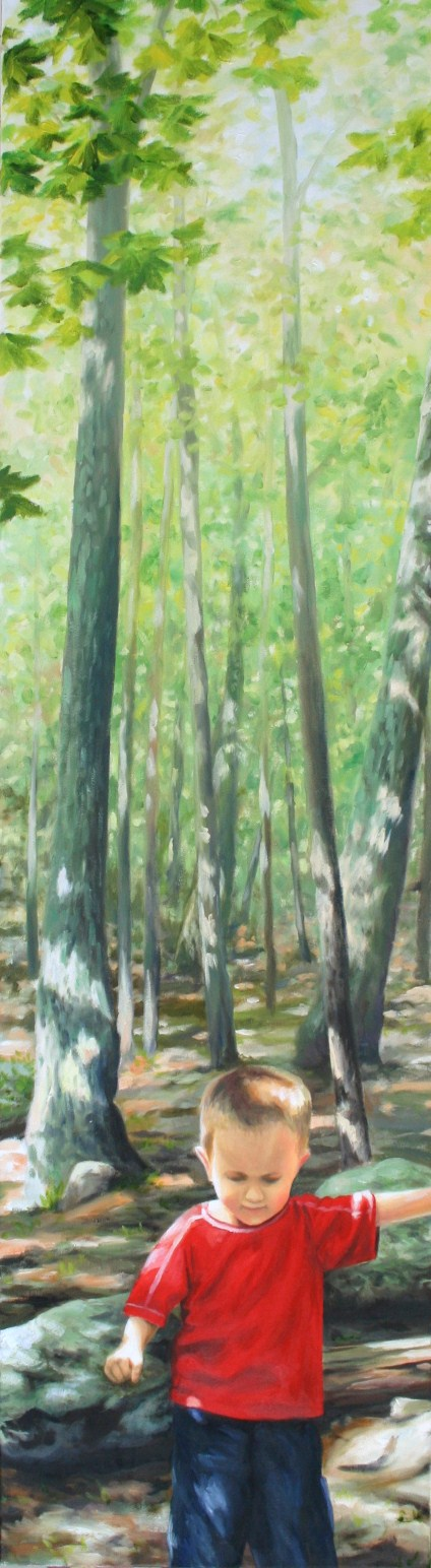 """Oil Painting 54""""X15"""""""
