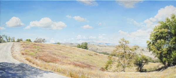"""Oil Painting 18""""x40"""""""