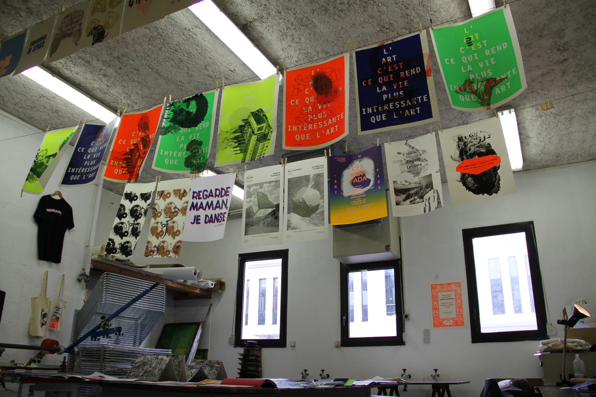 Graphic Design Studio at ESADHaR