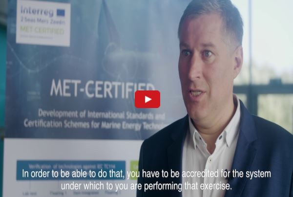 Video testimonial explaining the difference between standardisation, certification and accreditation