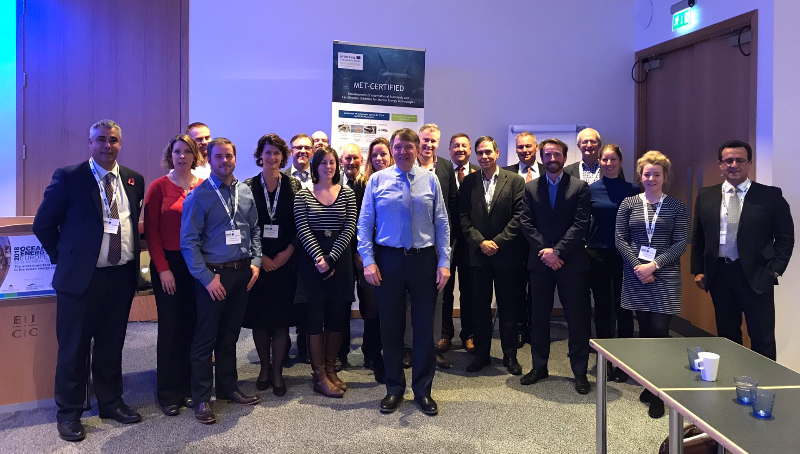 MET-CERTIFIED brings marine energy technology developers and investors together