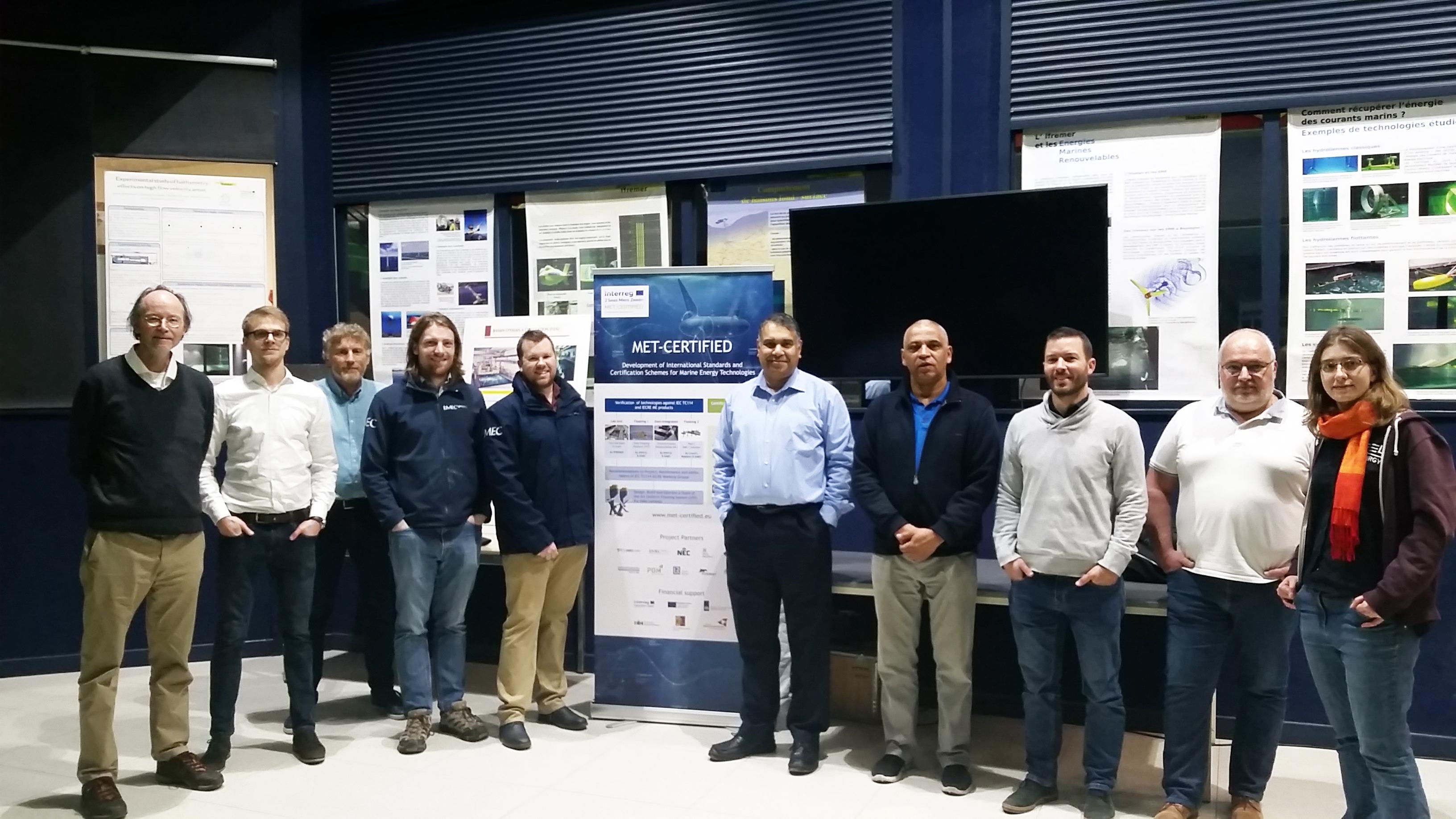 First Technology Qualification Workshop adopting IEC62600-4 TS