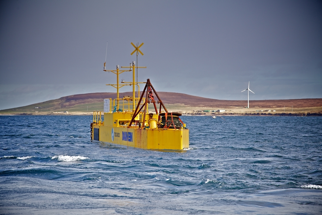 Project partners Tocardo and EMEC join forces for real life test of T2 tidal turbine