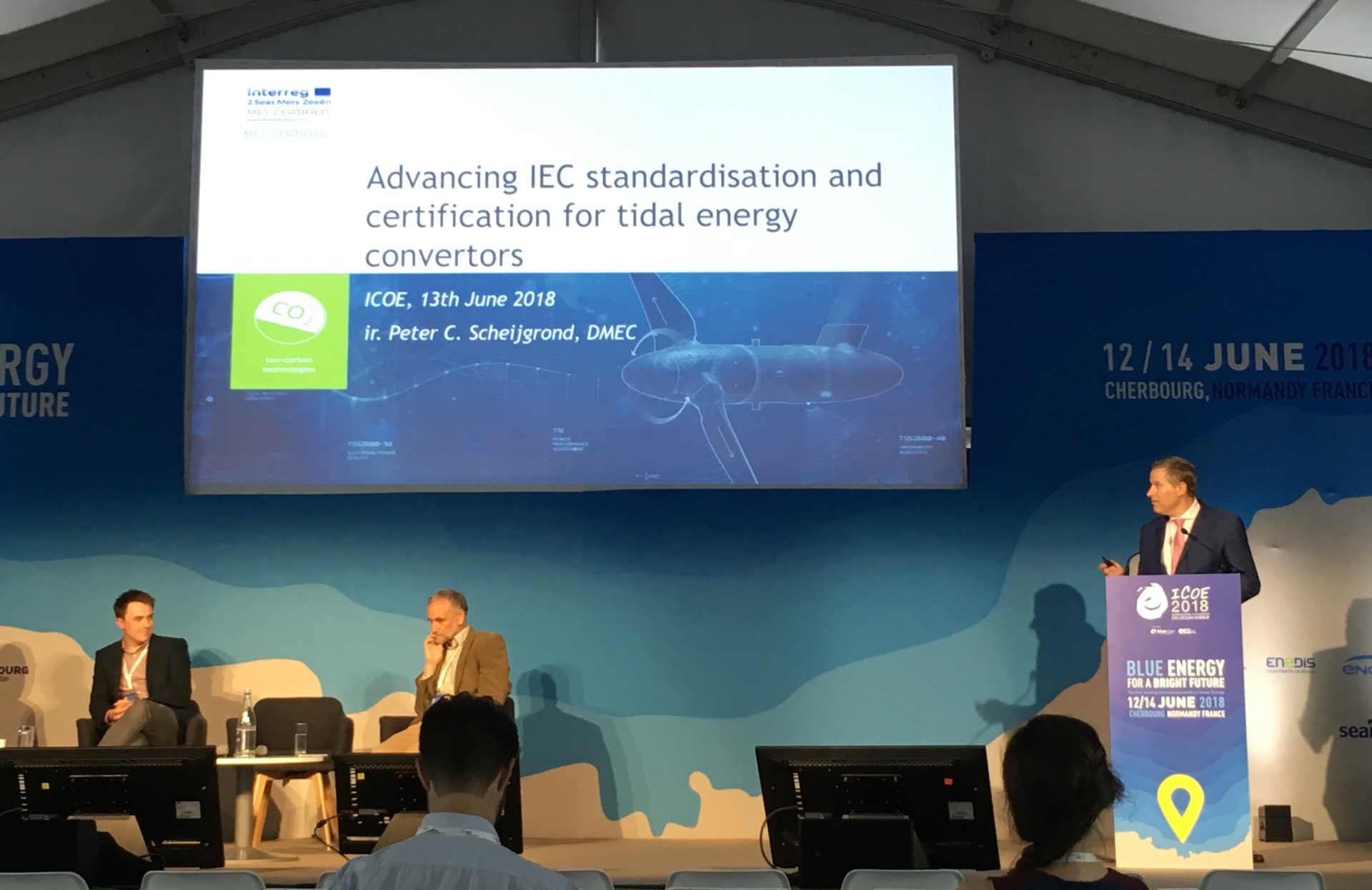 MET-CERTIFIED joined forces with ICOE2018: our impressions, facts and figures