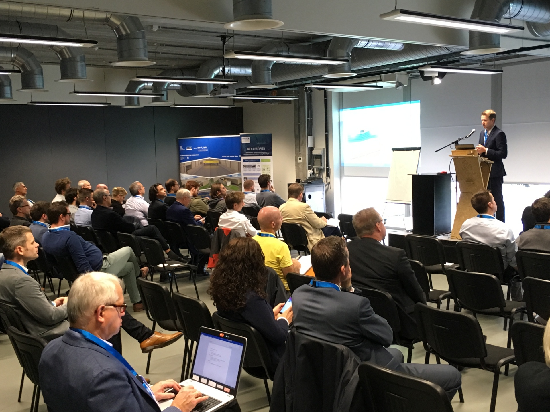 MET-CERTIFIED B2B and cohosted workshop on Emerging Offshore Technologies, 05/10/2018 @ Ostend
