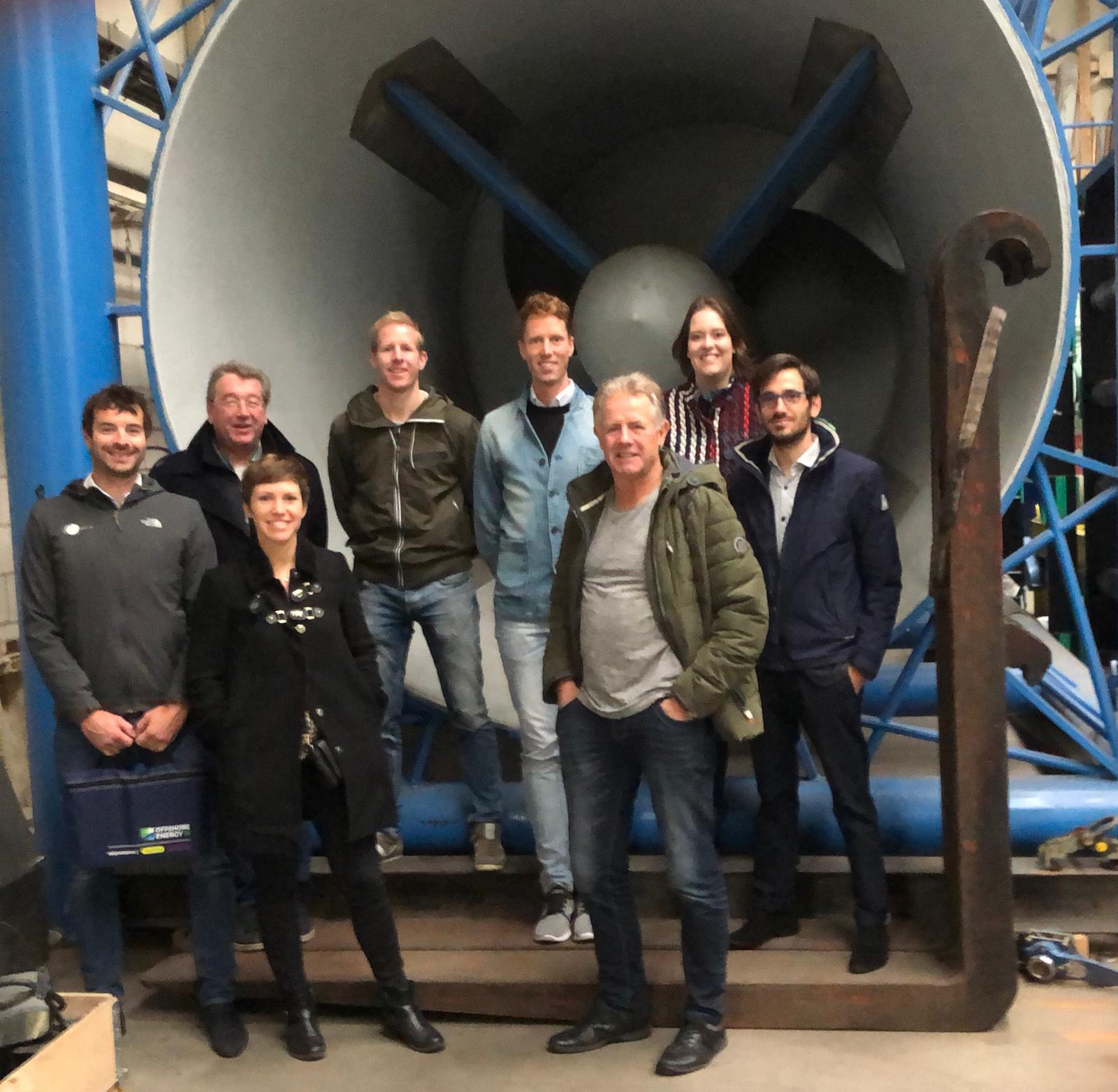 Project coordinator DMEC hosts a 3-day French mission on marine renewable energy to the Netherlands