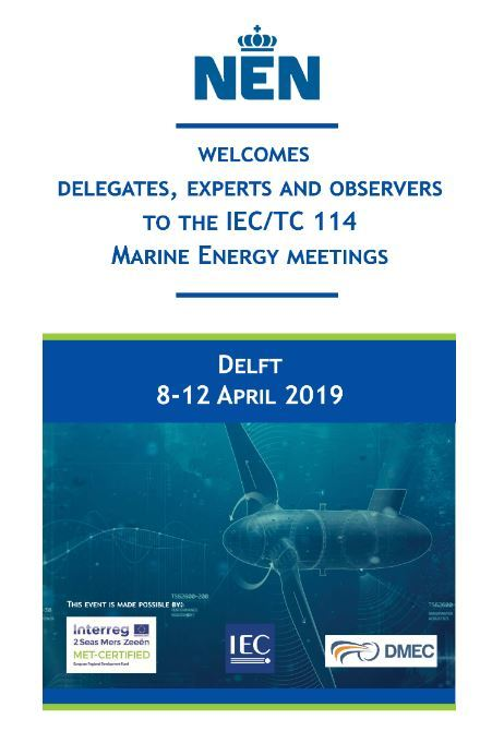 The Netherlands to host international marine energy experts developing standards for the sector