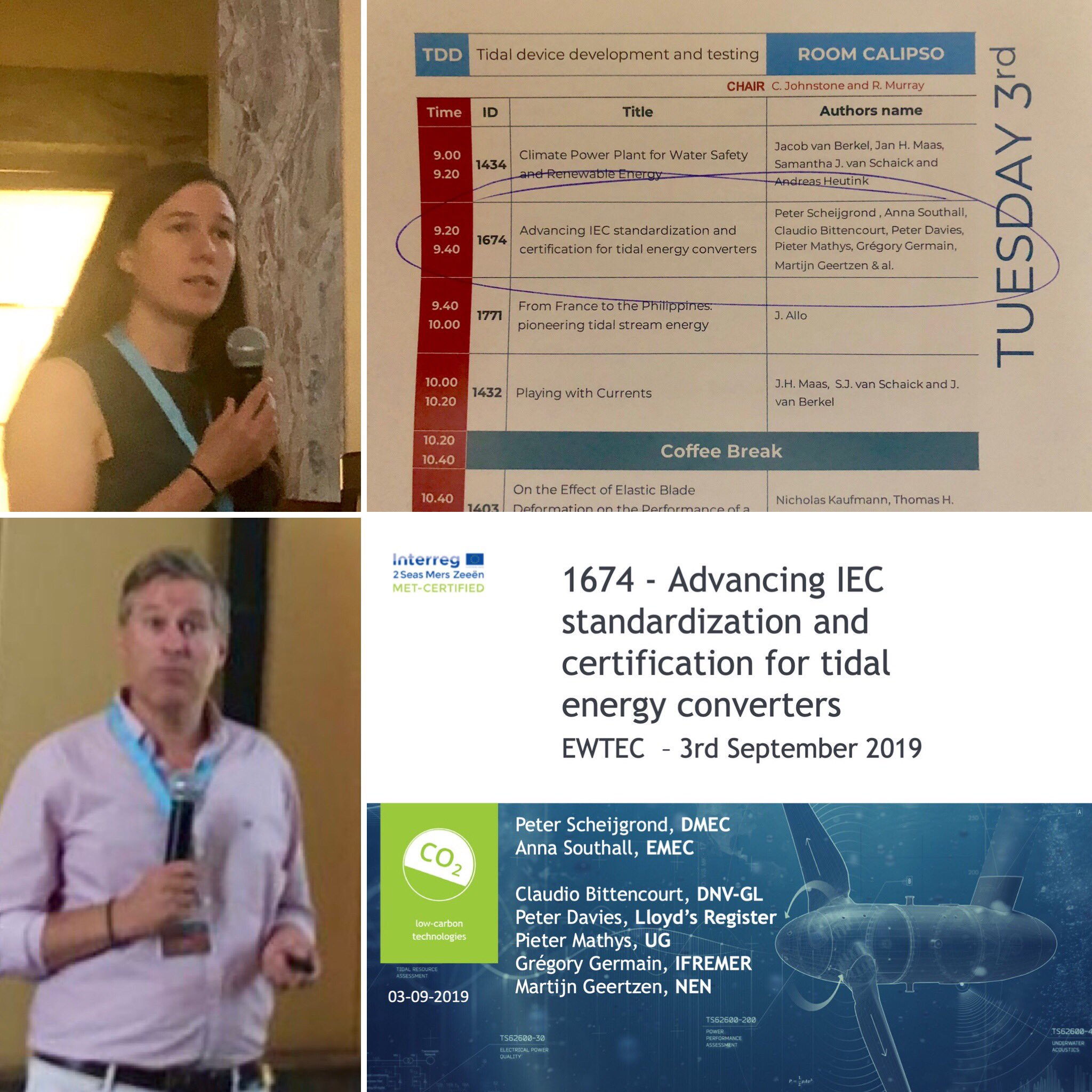 MET-CERTIFIED papers presented during European Wave and Tidal Energy Conference in Napels