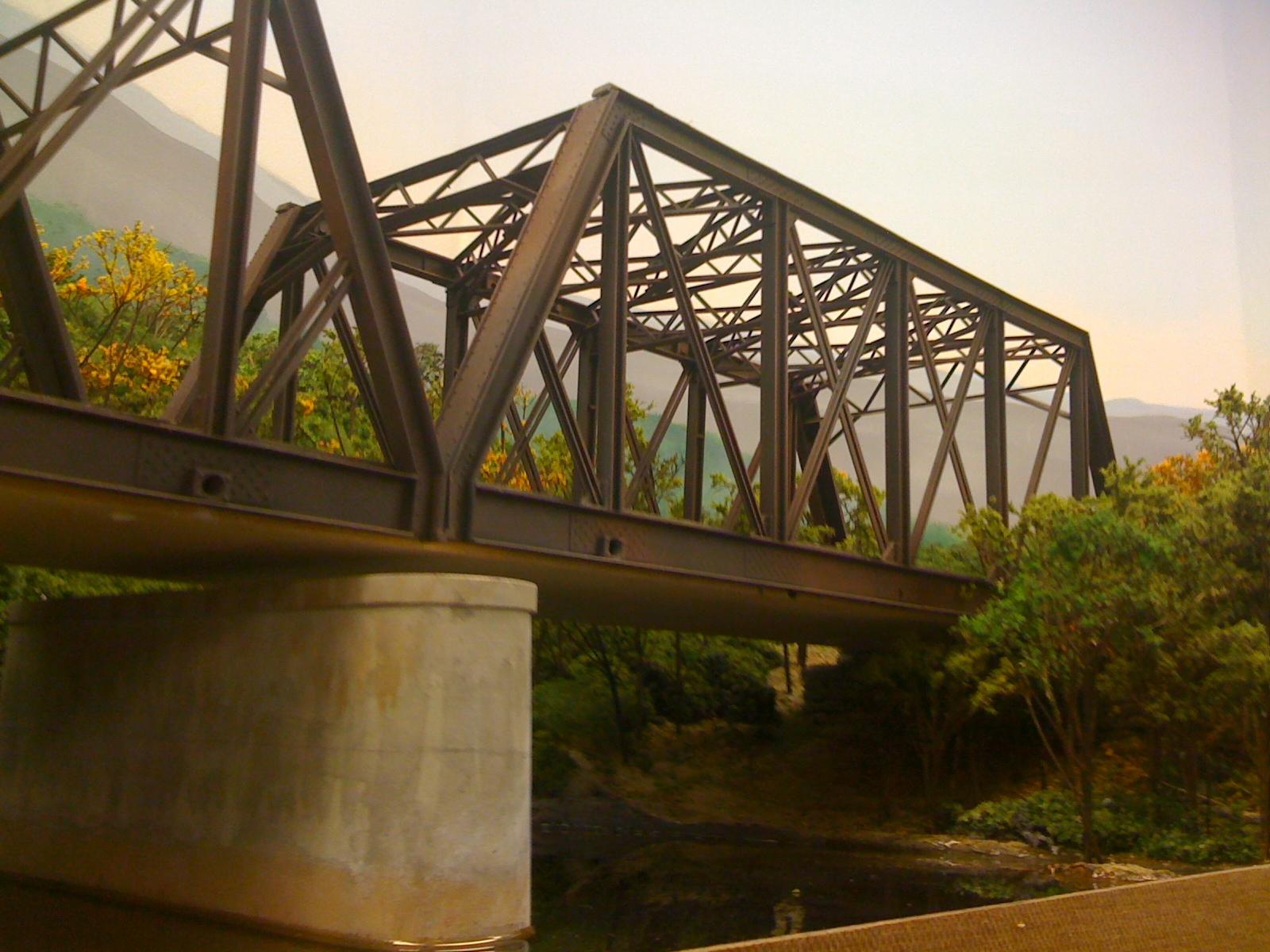 Early morning bridge