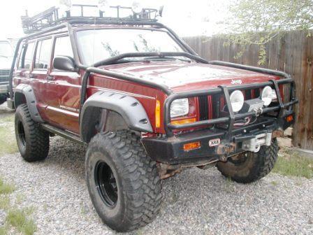 Custom Jeep cherokee exo cage