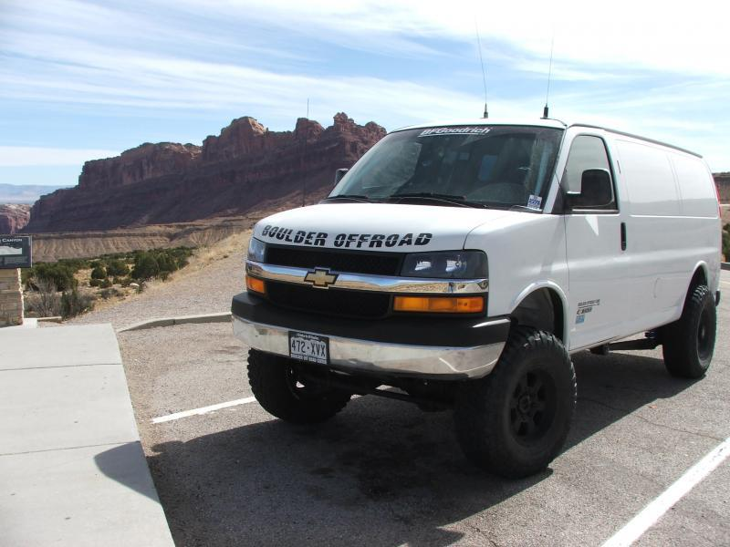 4x4 chevy express van