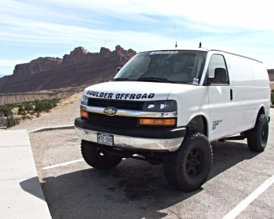 4x4 Chevy Long Arm Chase Van