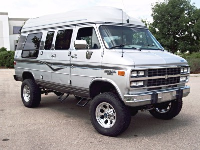 4x4 Chevy G van