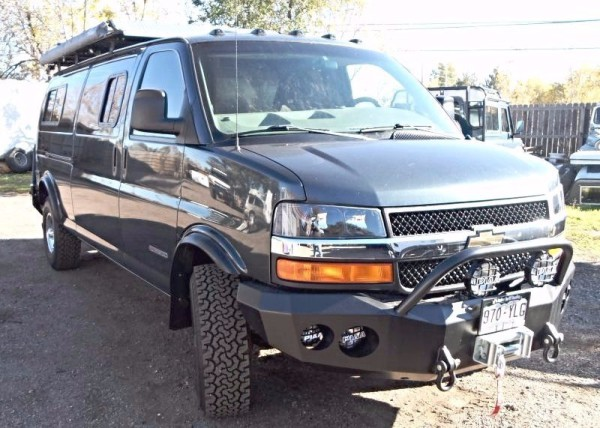 Chevy GMC 6 Lug Van Lift Kits