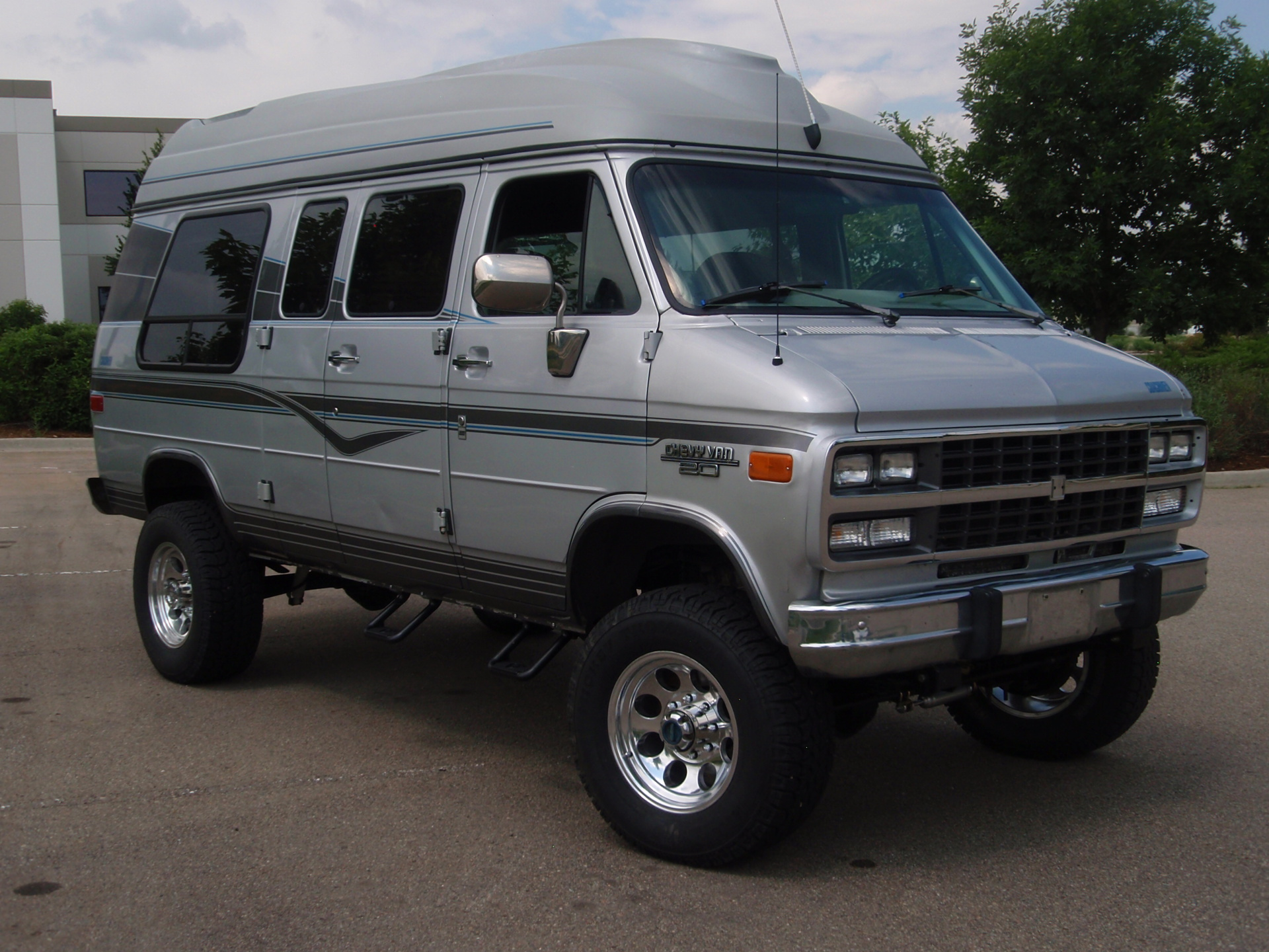 4x4 Chevy Van Conversion kit