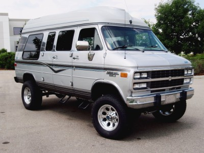 4x4 conversion kit for chevy G20