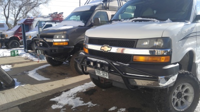 Chevy Express front bumper