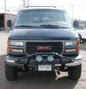 Lifted GMC Savana Van