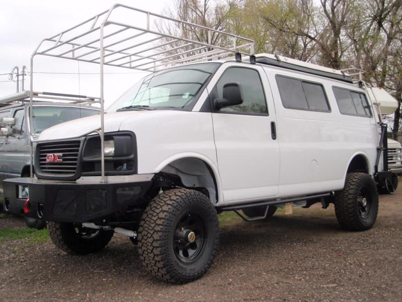 GMC Custom bumper and roof rack system