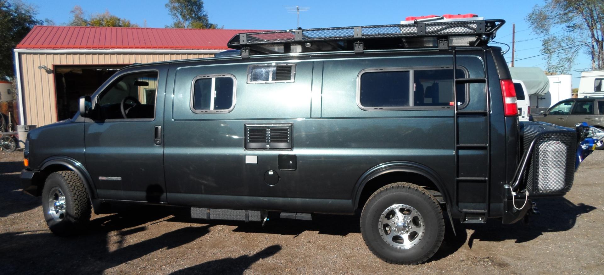 Custom Chevy Express Camper Van