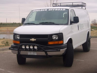 Lifted Chevy Express 2wd