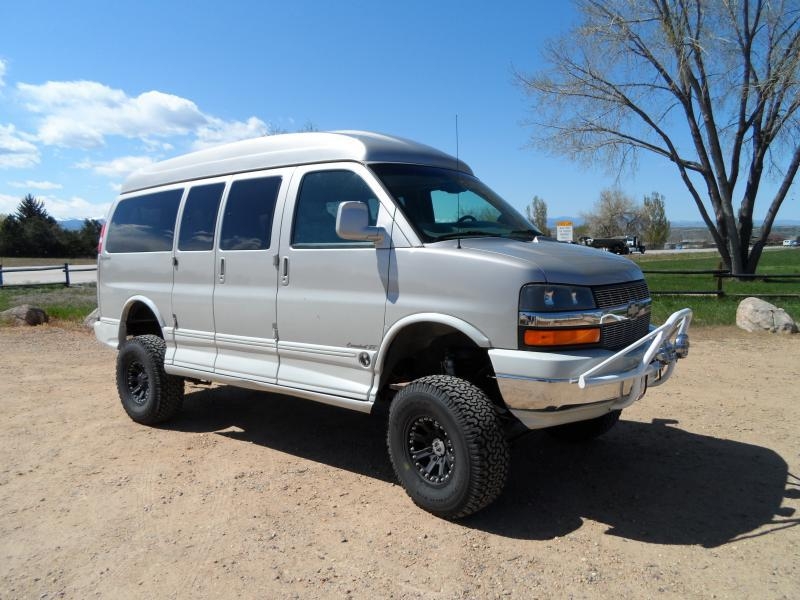 4x4 Chevy Express Hightop Conversion Van