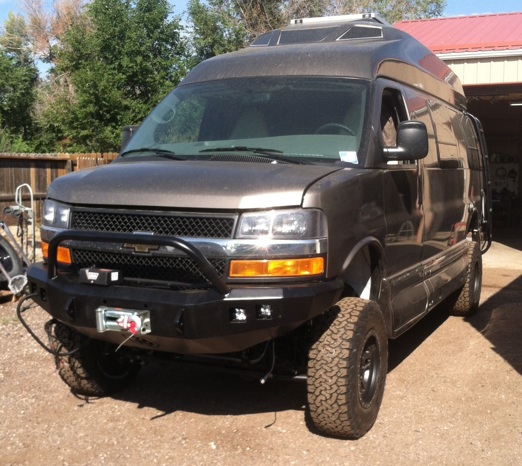 4x4 Chevy Express Roadtrek