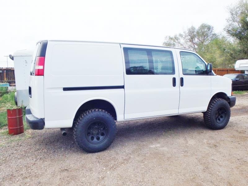 2wd Chevy Express lift kit