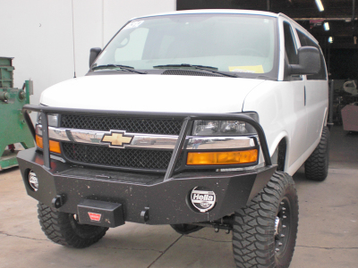 4x4 Express with front winch bumper