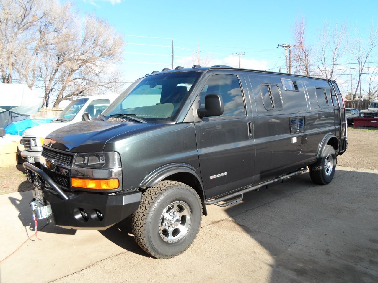 Chevy Express camper van
