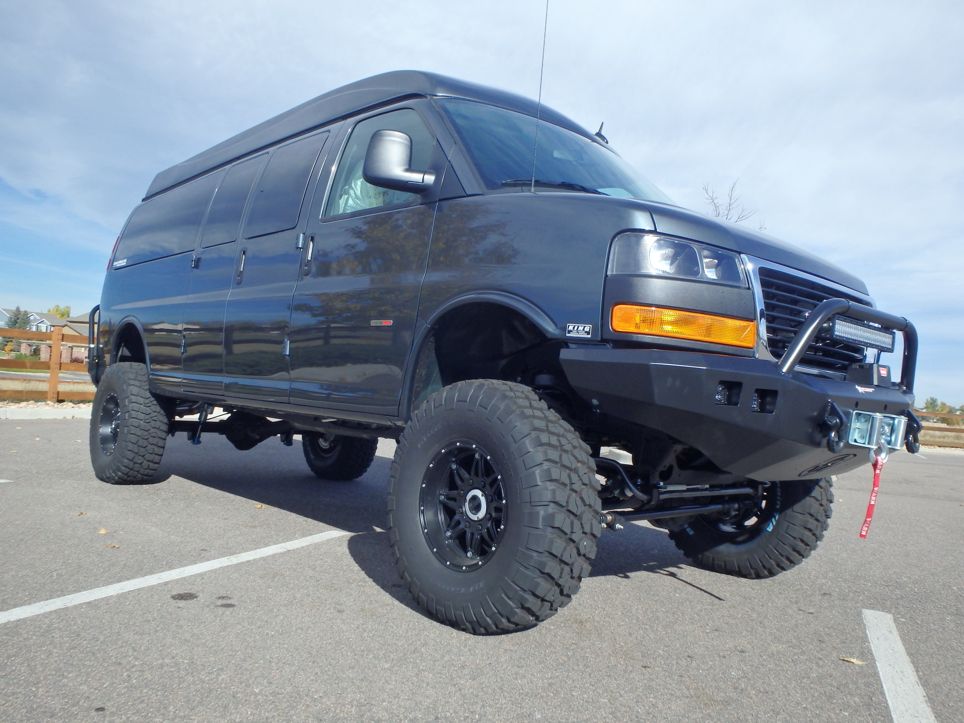 4x4 Chevy Express Passenger Van