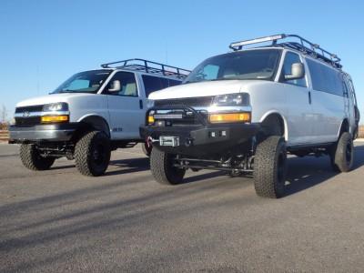4x4 Chevy Express Conversion