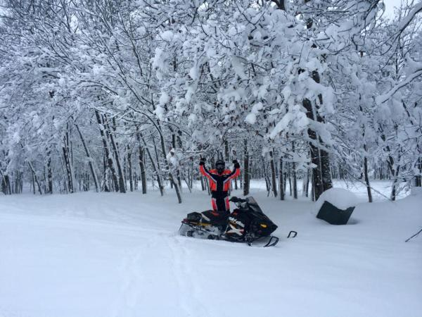 Never Ending Snowmobile Trails