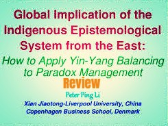 Global Implications Of The Indigenous Epistemological System From The East
