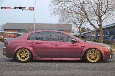 Karla's Acura TL photoshoot